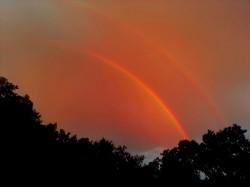double rainbow for  blog