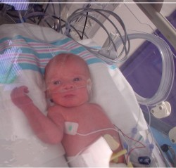 newborn in NICU