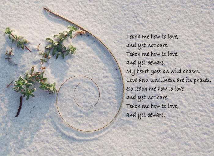 Poem by Jane F Thompson