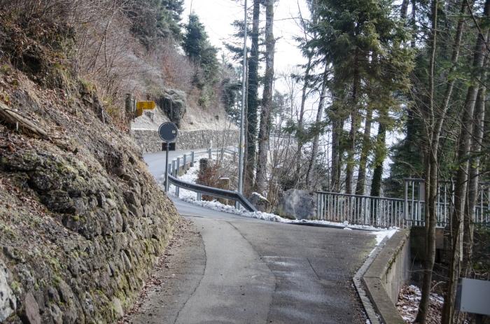 Winding path in Switzerland © Jack H Thompson