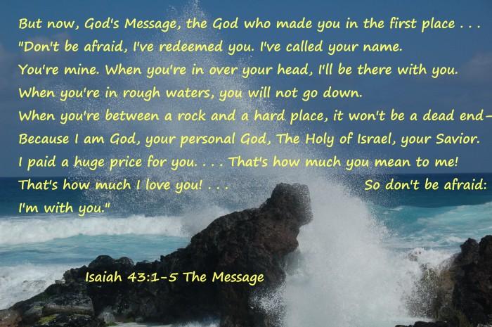 Maui waves  Isaiah 43:1_5