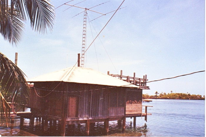 Our house. once a coconut trading post
