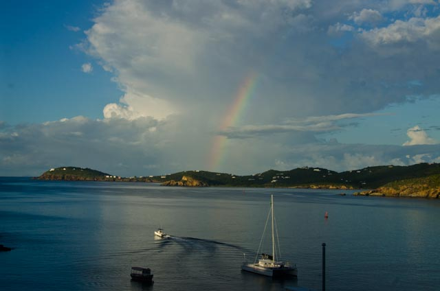 rainbow in St Thomas, VI JHT