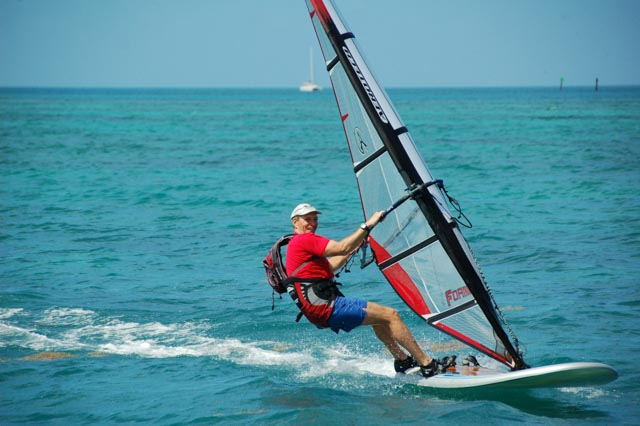 Windsurfing in Dry Tortugas