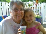 Mom and a great-granddaughter