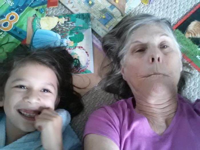 Grammi and A selfie