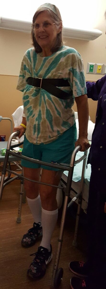 learning to walk again