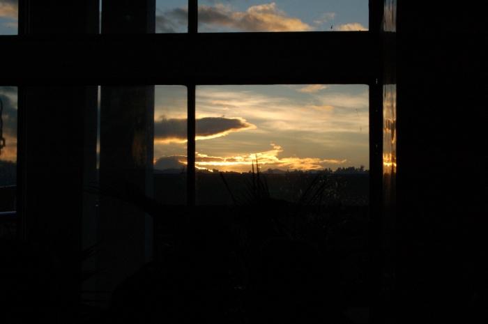 Ecuador sunrise